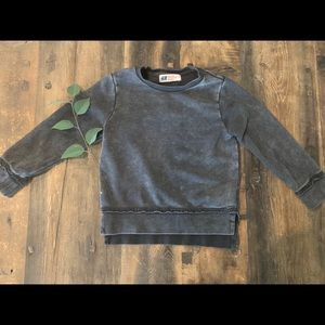 H&M Kids Distressed Long Sleeve Teeshirt